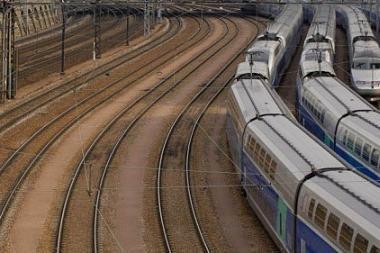 Traukinyje gimęs vaikas mieste važinės nemokamai