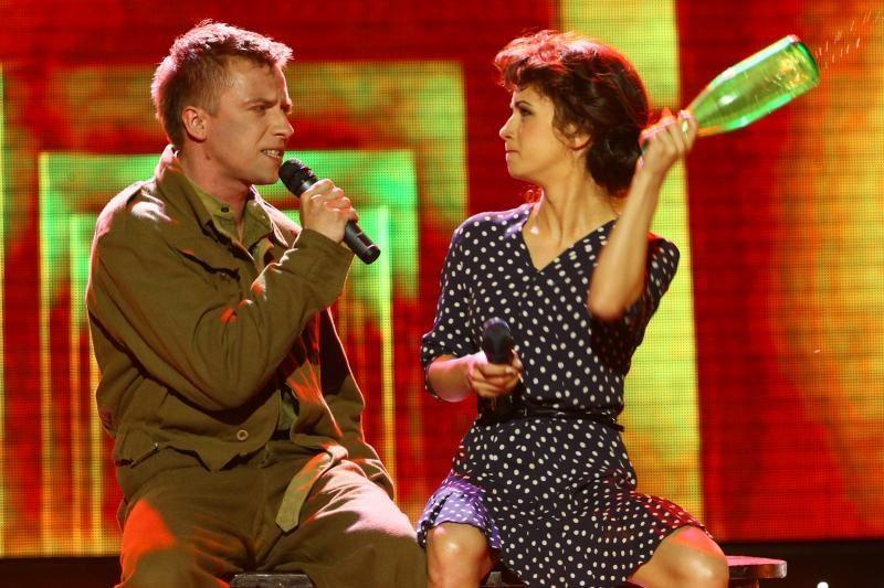 """Už """"Žvaigždžių duetų"""" finalo borto liko A.Pilvelytė ir R.Bubnelis"""