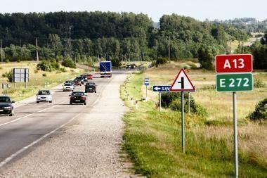 Lietuvos keliuose neliks reklaminių kelio ženklų