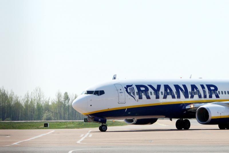 """""""Ryanair"""" nori daugiau reklamos Kaunui"""