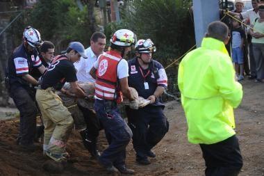 Pragaištingas žemės drebėjimas Kosta Rikoje