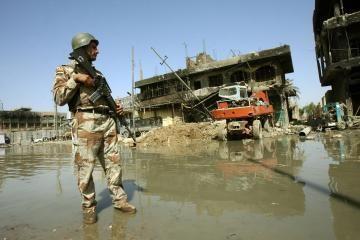 Lietuviai tęs misiją Irake