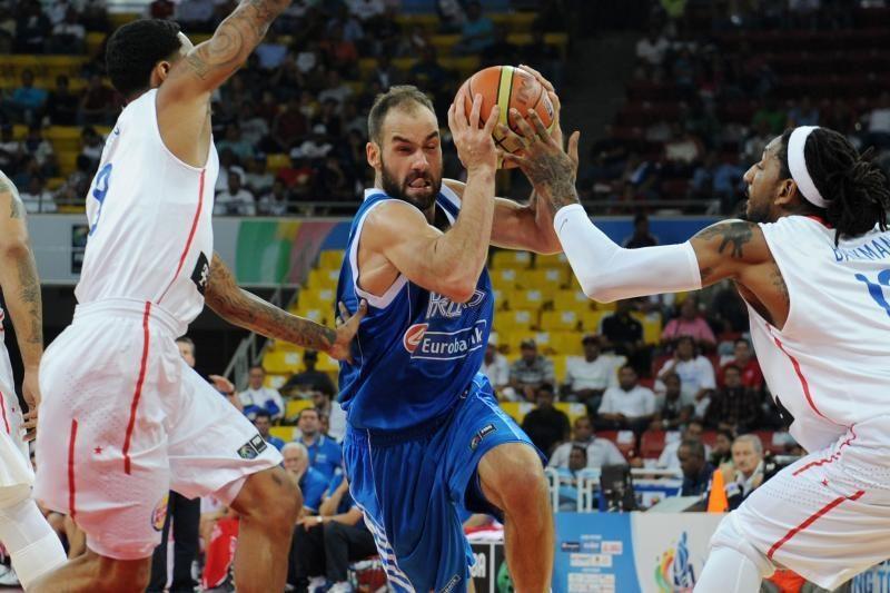 Graikijos vyrų krepšinio rinktinė liko be olimpiados