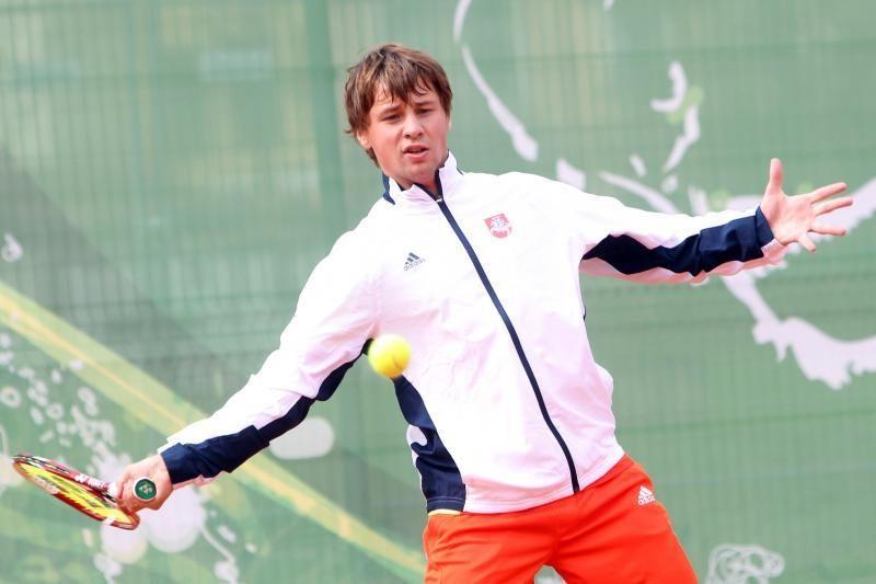 """R.Berankis pateko į """"Challenger Tour"""" vienetų varžybų pusfinalį"""