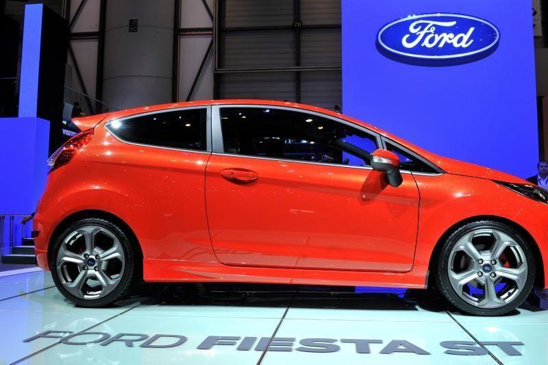 """Pradėta atnaujintos """"Ford Fiestos"""" gamyba"""
