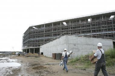 Žalgirio arenos statyba kainuos mažiau - arbitražas