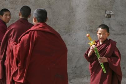 Kinijoje susidegino dar vienas tibetietis