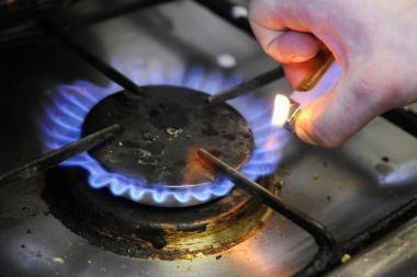 Investicijos dujų kainų beveik nekeis