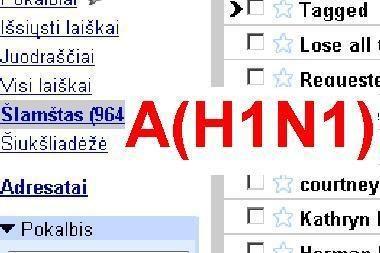 Interneto įsibrovėliai siunčia brukalą, siūlydami skiepus nuo A(H1N1)