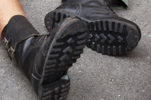 """Po purvynus: vieni renkasi kaliošus, kiti kojas """"tausoja"""" maišeliuose"""