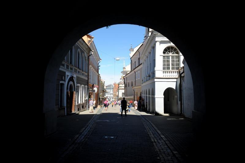 Vilniuje prie Aušros vartų apvogta koplyčia