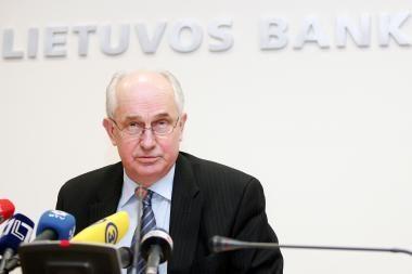 Lietuvos banko vadovui siūlo nustatyti 19,7 tūkst. litų algą