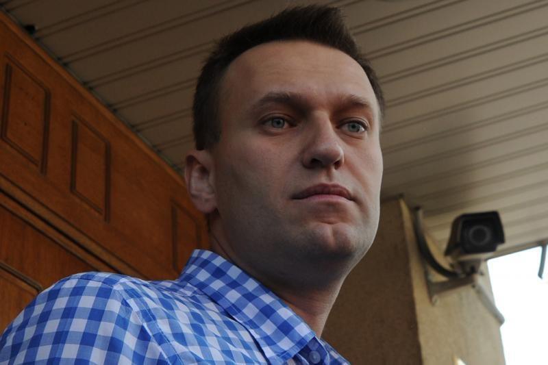 Rusijos teismas tęsia opozicijos lyderio Navalno bylos nagrinėjimą