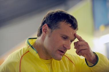 V.Alekna: laimėti medalį buvo nerealu
