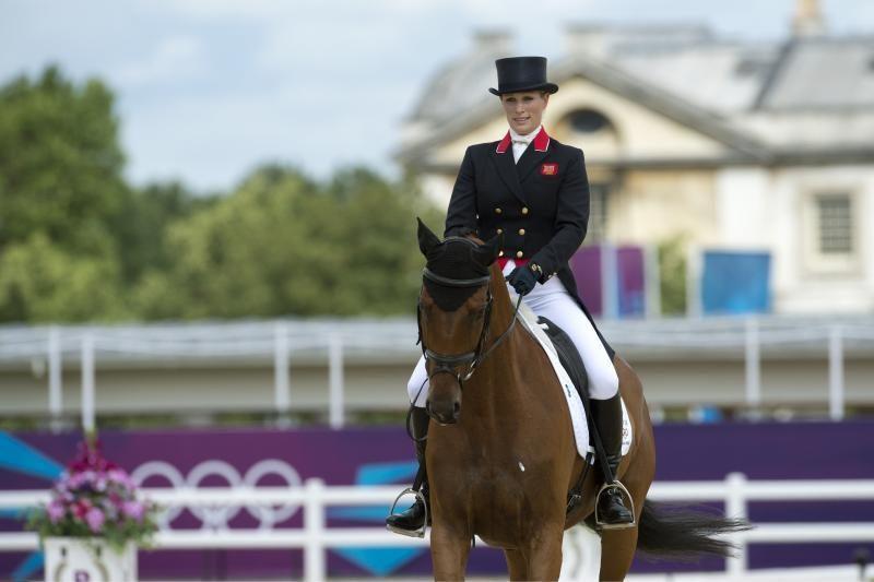 """Britanijos karalienės anūkės Zaros pavardė reiškia """"arklių mylėtoja"""""""