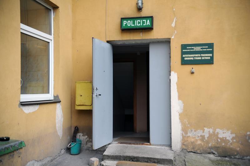 Iš sostinės policijos nuovados pabėgo sulaikytasis