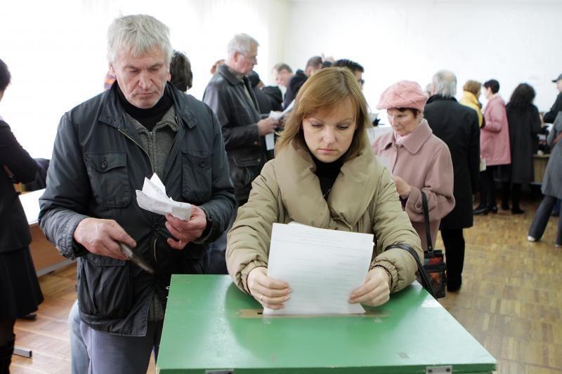 Klaipėdoje rinkimų dieną jau balsavo apie 5 proc. rinkėjų