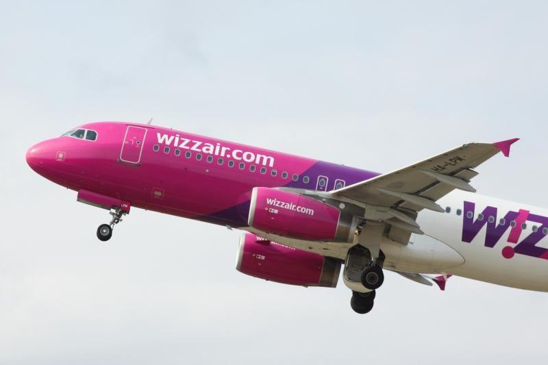 """Iš Palangos gali atsirasti pigių skrydžių į Londoną su """"WizzAir"""""""