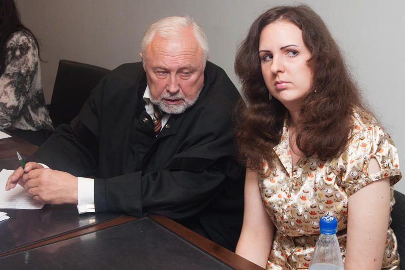 Už grasinimus prokurorui E.Kusaitei skirta beveik 8 tūkst. litų bauda