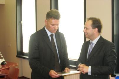 Ukrainos ambasadorius dėkojo už paramą