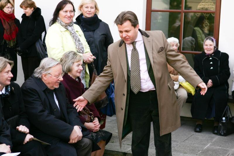 Konservatorius M. Adomėnas viešai atsiprašė V. Landsbergio