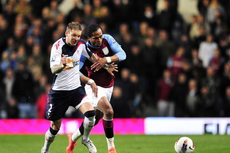 """Anglijoje """"Bolton Wanderers"""" įveikė """"Aston Villa"""" futbolininkus"""