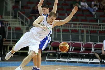 """M.Gecevičius buvo """"Olympiacos"""" lyderis mače prieš """"Bešiktaš"""""""