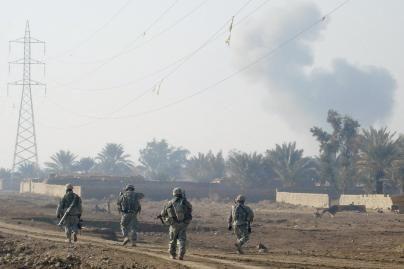 Irake rasti dingusių JAV karių palaikai