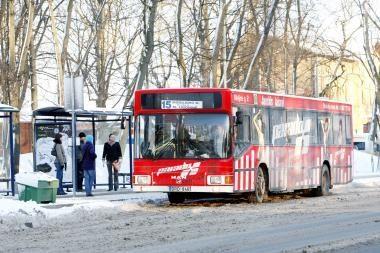 """Populiariausia stotelė Klaipėdoje - """"Bibliotekos"""""""