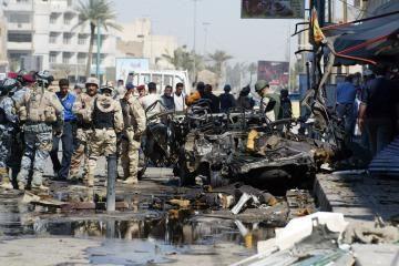 Irake sprogus bombai žuvo septyni policininkai