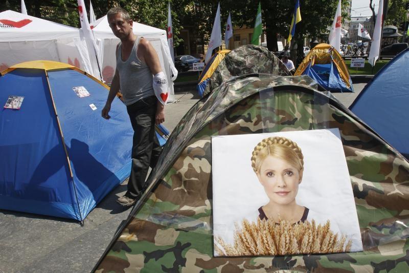 """J. Tymošenkos duktė sveikina ES teismo nutartį kaip """"pirmąją pergalę"""""""