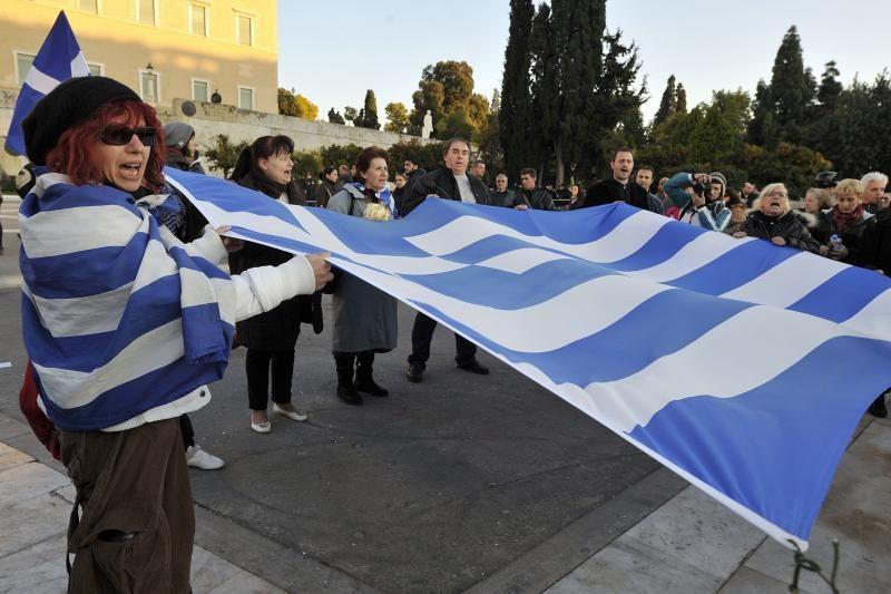 Britanija pranašauja Graikijos pasitraukimą iš euro zonos
