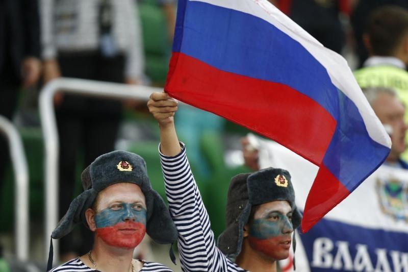 Lenkijos ir Rusijos rinktinių rungtynės buvo žiūrimiausios