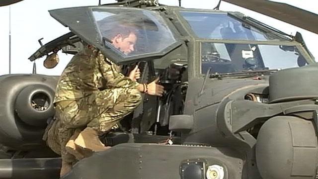 Princas Harry atvyko į Afganistaną tęsti karinės tarnybos