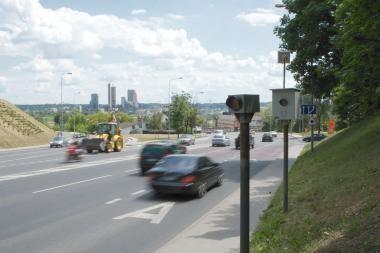 Greičio matuokliai Vilniuje vėl veikia!