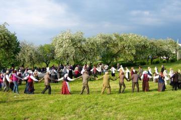 Pažaislyje skambės liaudies dainos
