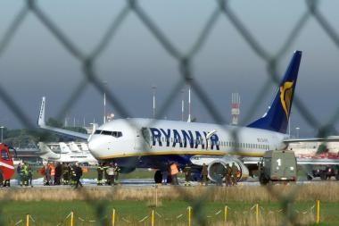 Lėktuvai iš Kauno vis dar nekyla