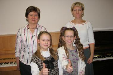 Konkurse Kaliningrade įvertintos Klaipėdos jaunosios pianistės