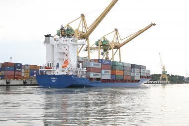 Klaipėdos uostas - tarp lyderių