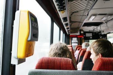 Autobuso vairuotojas pasijuto esąs visagalis
