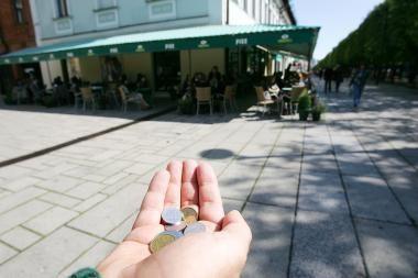 Skurstančioms šeimoms – vokiečio parama