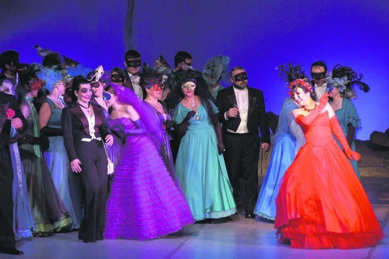 Klaipėdos muzikinis teatras kuria šviesų pasaulio pabaigos scenarijų