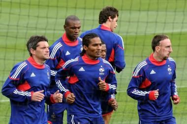 Prancūzijos futbolininkai nutraukė boikotą