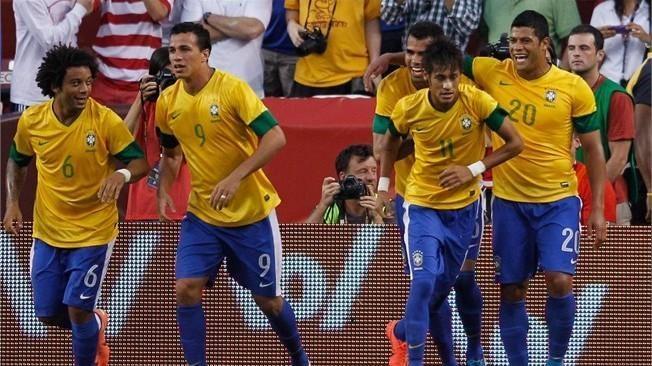 Brazilijos futbolininkai sutriuškino kinus