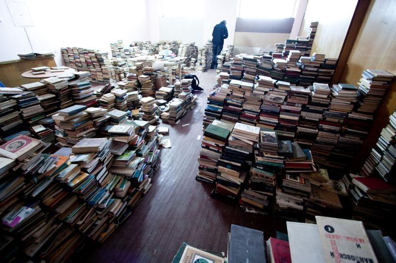 Parduotas Vilniaus centrinis knygynas
