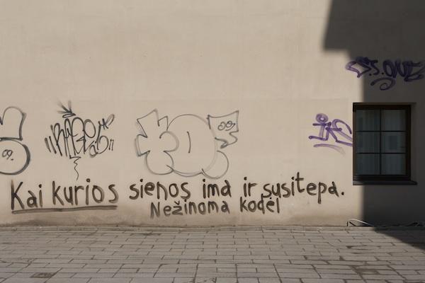 Baudžiamuoju kodeksu griežtins baudas už grafitus