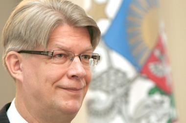 Kitais metais Latvija turi toliau lipti iš krizės, pareiškė prezidentas Zatleris