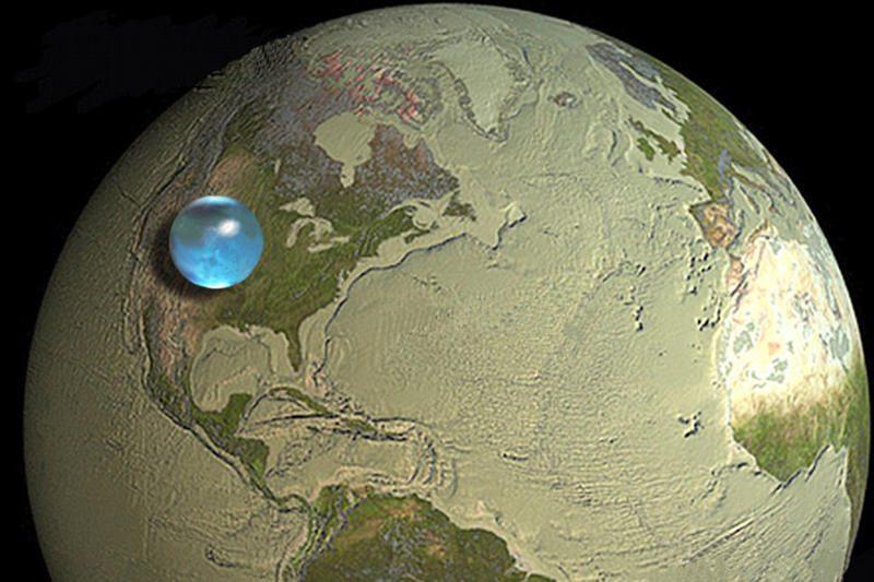 Žemė sausesnė, nes formavosi karštesnėje vietoje?