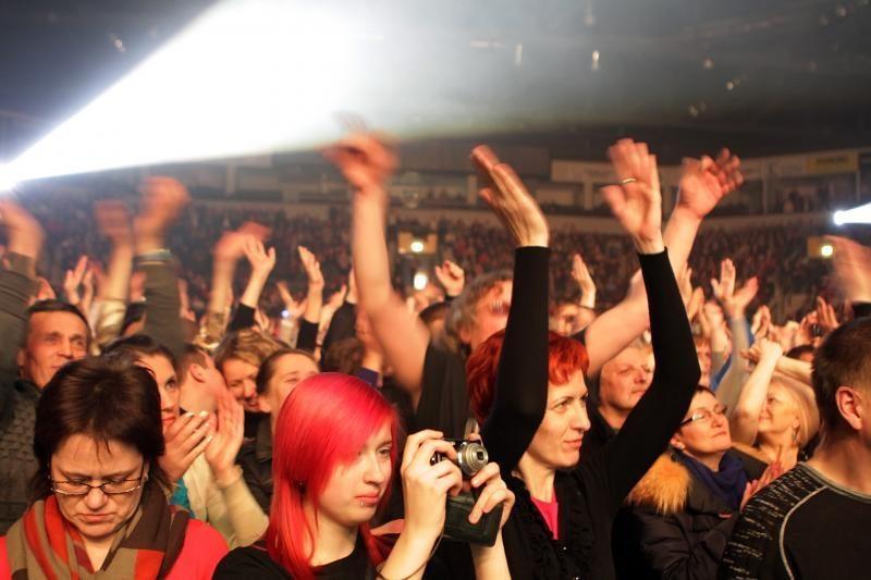 Naujųjų išvakarėse klaipėdiečiai šėlo su muzikos legendomis