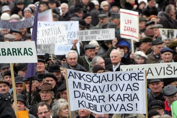 R.Pakso šalininkai penktadienį rengia protestus dešimtyje miestų